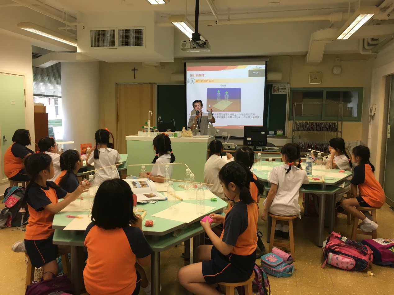 myID STEM Workshops x 「羅馬炮架」2018